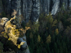 Schrammsteine, Saxon Switzerland, Elbe Sandstone Mountains, Germany,