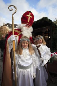 Germany, Bavaria, Munich, St Nicholas, angels,