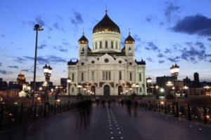 Europa, Russland, Moskau, Christi Erlöser Kathedrale,