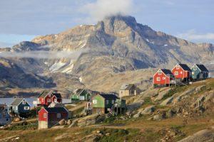 Grönland, Ostgrönland, Bezirk Ammassalik, Tasiilaq,