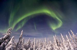 Schweden, Lappland, Nordlicht, Aurora borealis,