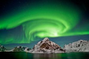 Norwegen, Polarlicht, Aurora Borealis