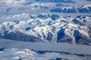 North America, Canada, North Canada, Nunavut, Ellesmere Island, glacier, mountain landscape, ice landscape