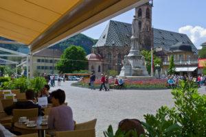 Italien, Suedtirol, Bozen, Walterplatz