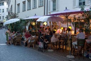 Italien, Suedtirol, Bozen, Altstadt, Bar-Restaurant