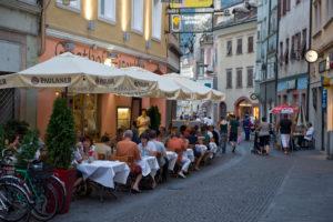 Italien, Suedtirol, Bozen, Altstadt, Silbergasse