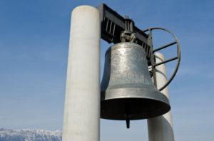 Italien, Trentino, Rovereto,  Friedensglocke Campana dei Caduti e della Pace Gefallenengedenkglocke