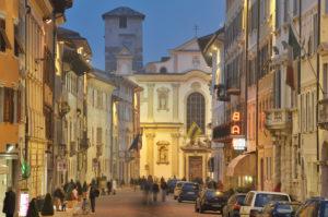 Italien, Trentino-Südtirol, Trentino, Trento / Trient, Zentrum, Altstadt, Via Belenzani