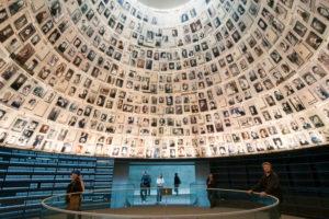 The Holocaust memorial Yad Vashem, Hall of names, Jerusalem, Israel