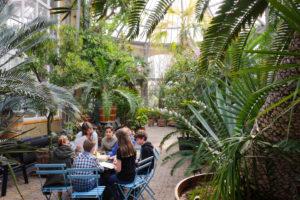 Botanical garden Hortus Botanicus, Amsterdam, Holland, Netherlands