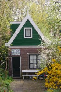 old house on the Nieuwendammerdijk, Amsterdam-Noord (borough), Amsterdam, Holland, Netherlands