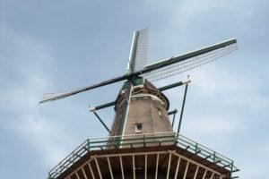 Windmill 'Molen De Gooyer', Amsterdam, Holland, Netherlands