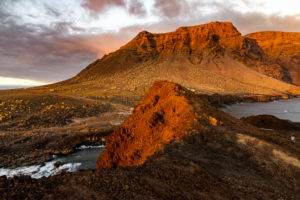 'Punta del Teno' at sunset - westernmost point of Tenerife, Spain