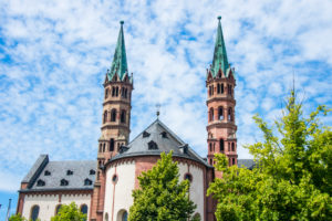 Cathedral of Wuerzburg, Franconia, Bavaria, Germany