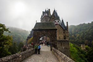 Fairytale castle Eltz near the Moselle valley, Rhineland-Palatinate, Germany