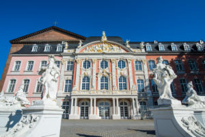 Palace of Trier, Unesco world heritage sight, Trier, Moselle valley, Rhineland-Palatinate, Germany
