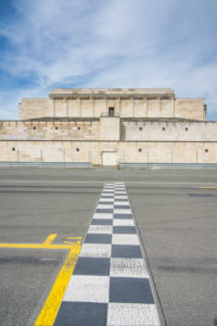 Grandstand at the Nazi rallying grounds, Zeppelin field, Nuremberg, Bavaria, Germany