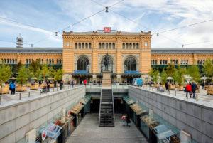 Hanover, Lower Saxony, Germany, Hanover Central Station.