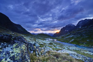 Sunrise in the Gradental