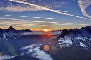 Sunrise Warth am Arlberg