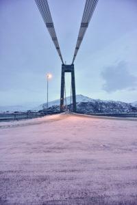 Bridge at Kvalsund