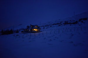 lonely house between Hammerfest and Kvalsund