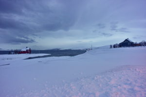 Fjord landscape at Stallogargo