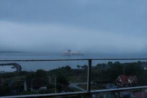 Fähre bei schlechtem Wetter auf der Ostsee, Stena Line