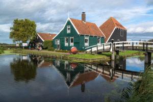 Old cheese dairy, Zaanse Schans, Zaanstad municipality, Holland, Netherlands
