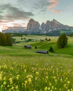Seiser Alm, Südtirol, Italien