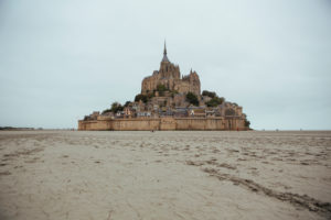 Mont Saint-Michel in France