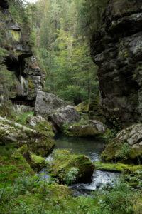 Hrensko Klamm in Tschechien