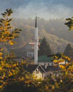 Gebetstum von Kulen Vakuf in  Bosnien und Herzegowina