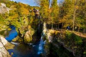 Autumn in Plitvice National Park in Croatia