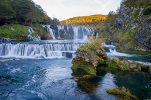 Strbacki buk waterfall in Bosnia and Herzegovina