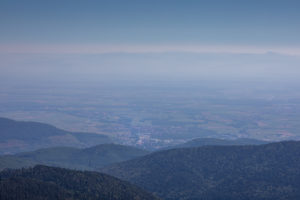 View, mountains, low mountain ranges, freedom, Europe, France, Vosges, the Great Belchen, La Grand Ballon