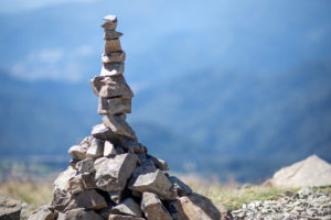 Zen, meditation, peace, silence, freedom, stacked stones, Europe, France, Vosges, the Great Belchen, La Grand Ballon