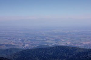 View, mountains, low mountain ranges, freedom, Europe, France, Vosges, the Great Belchen