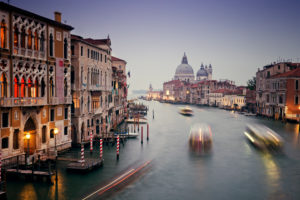 Grand Canal, blue hour