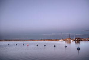 Abend-Idylle im Hafen von Gager auf Rügen