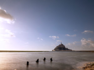 Le Mont-Saint-Michel at high tide