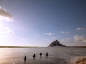Le Mont-Saint-Michel bei Flut
