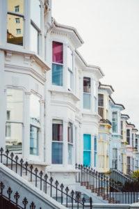 Britische Architektur, Brighton, England