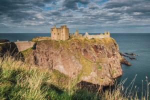 Dunnottar Castle (Dùn Fhoithear), Aberdeenshire, Stonehaven, Lowlands, Schottland
