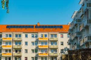 Deutschland, Solarenergie, Solardach, Photovoltaik, Wohnhaus