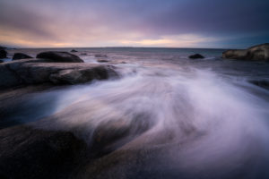 Sonnenuntergang, Lofoten, Ozean, Hoher Norden, Norwegen, Uttakleiv Beach