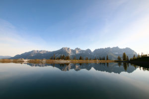 "the Astberg reservoir near Going in Tirol is known as the ""mirror of the emperor"""