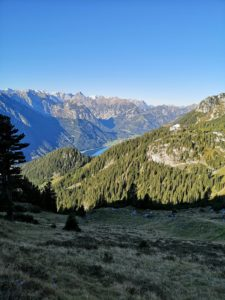 Five peaks via ferrata in the Rofan Mountains on Achensee in Tyrol