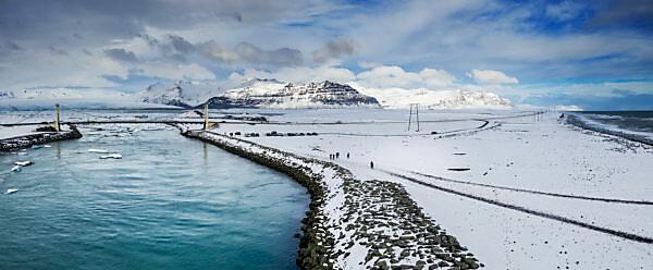 Winter - Jokusarlon Glacial Lagoon, Iceland