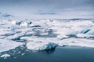 Winter - the Jokusarlon Glacial Lagoon, Iceland